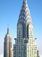 new york skyline empire state max