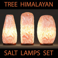 3d model himalayan salt table lamps