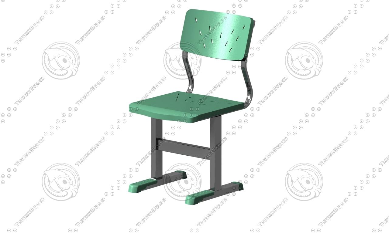 chair study 3d max