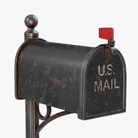 old mailbox c4d