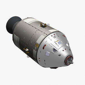 apollo command service module 3d model