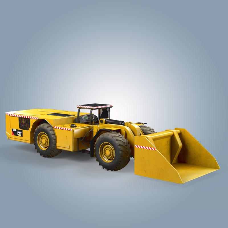 load haul dump cat 3d model