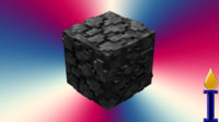 3ds cobblestone block 4