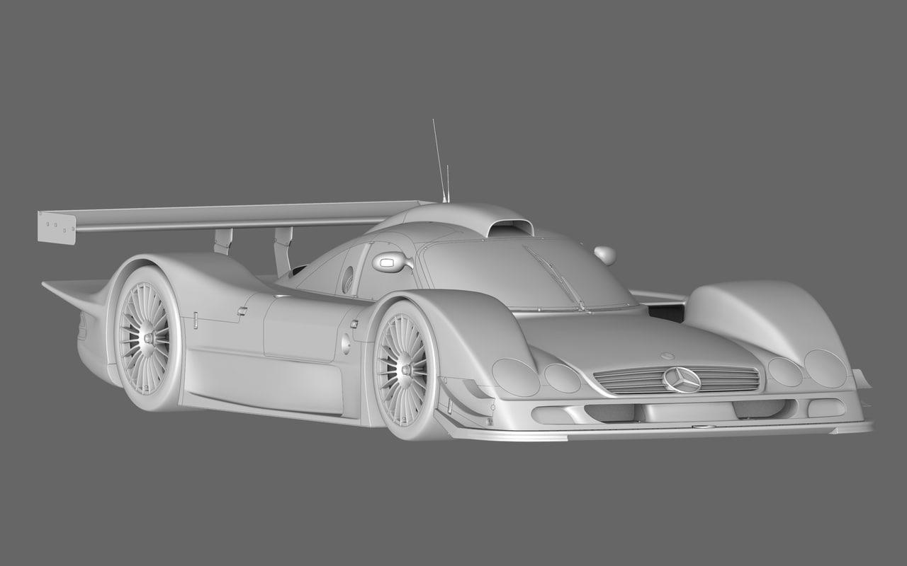 3d model of mercedes benz clr99