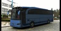 mercedes travego bus 3d model