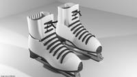 3d ice skate model