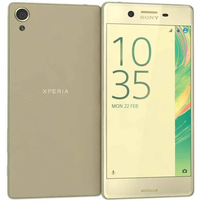 sony xperia x rose 3ds