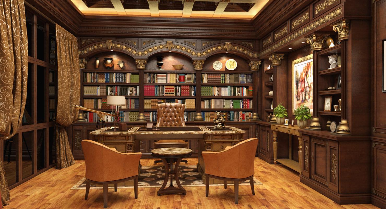 Luxury Office Room