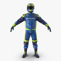 3d model moto gear
