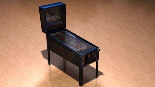 3d pinball earth shaker model