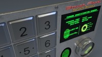 Security Panel 3D