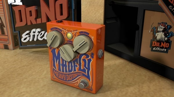 3d model of dr madfly