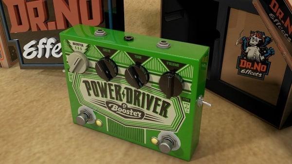 3d model dr power driverbooster