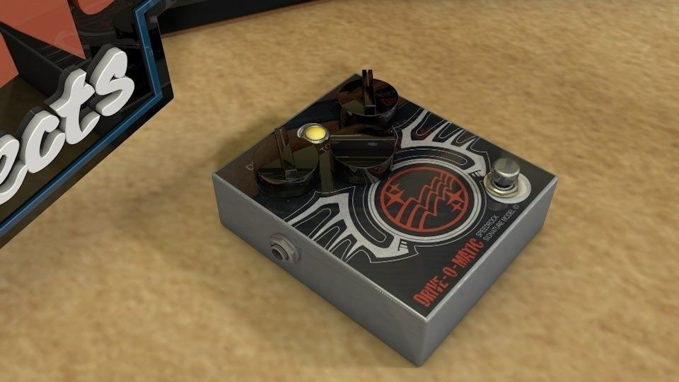 3d model of dr drive-o-matic