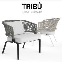 3d tribu contour clubchair