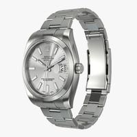 Rolex Datejust II Steel Silver Dial