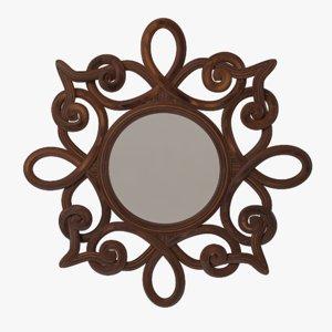fbx wall mirror