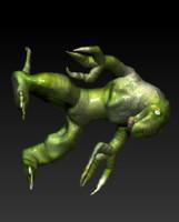 dragon happa 3d model