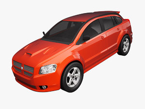 dodge caliber srt-4 3d model
