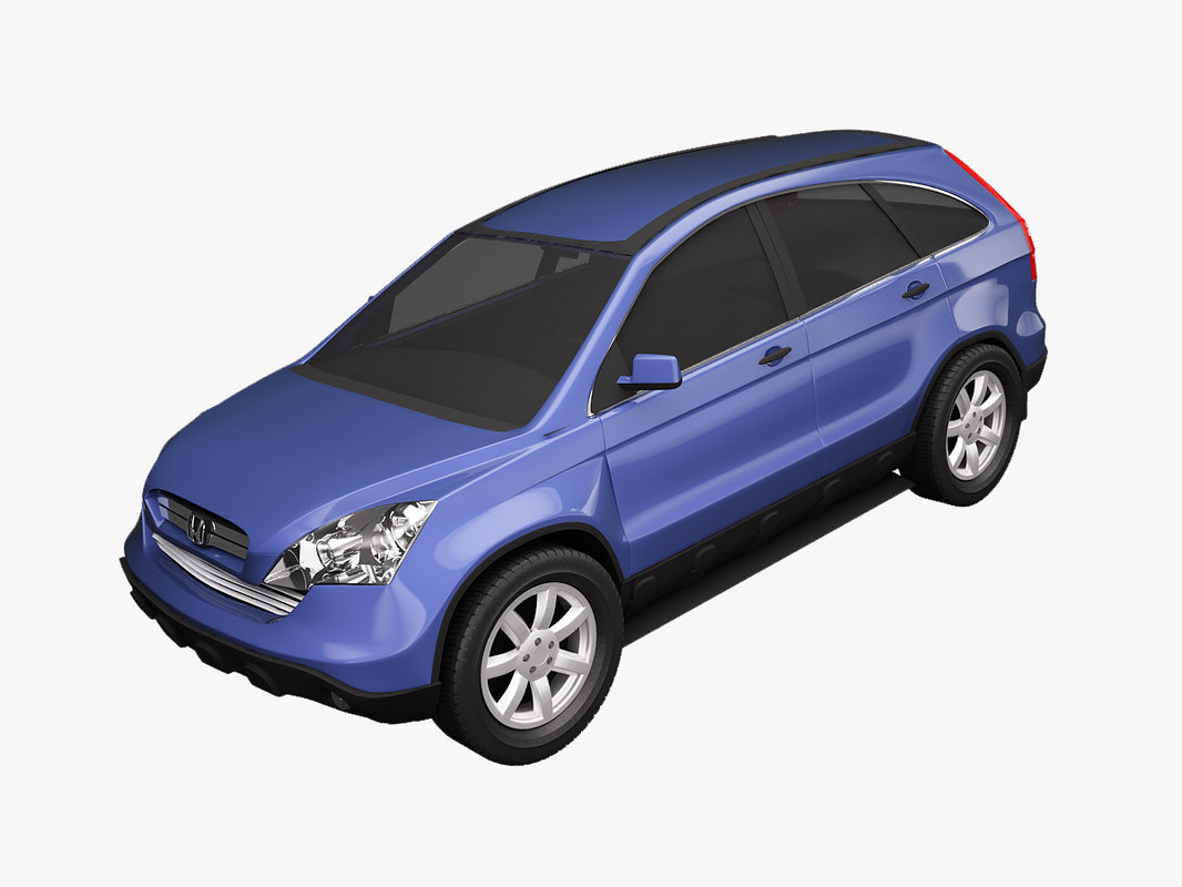 3d model honda cr-v euro specs