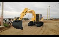 hyundai excavator r140lc-9 3d model