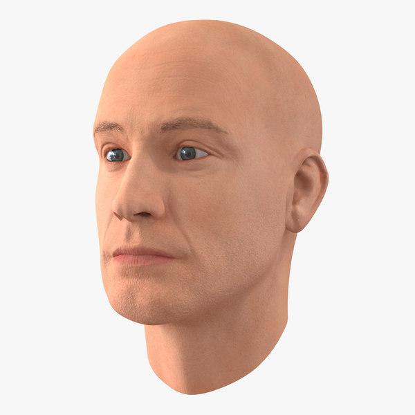 male head 4 3d max