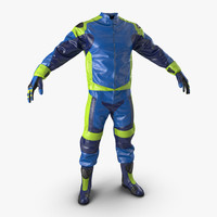 3d model moto gear generic 2
