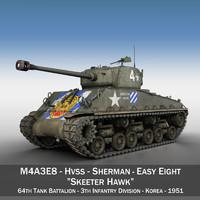 3d m4a3e8 sherman - skeeter
