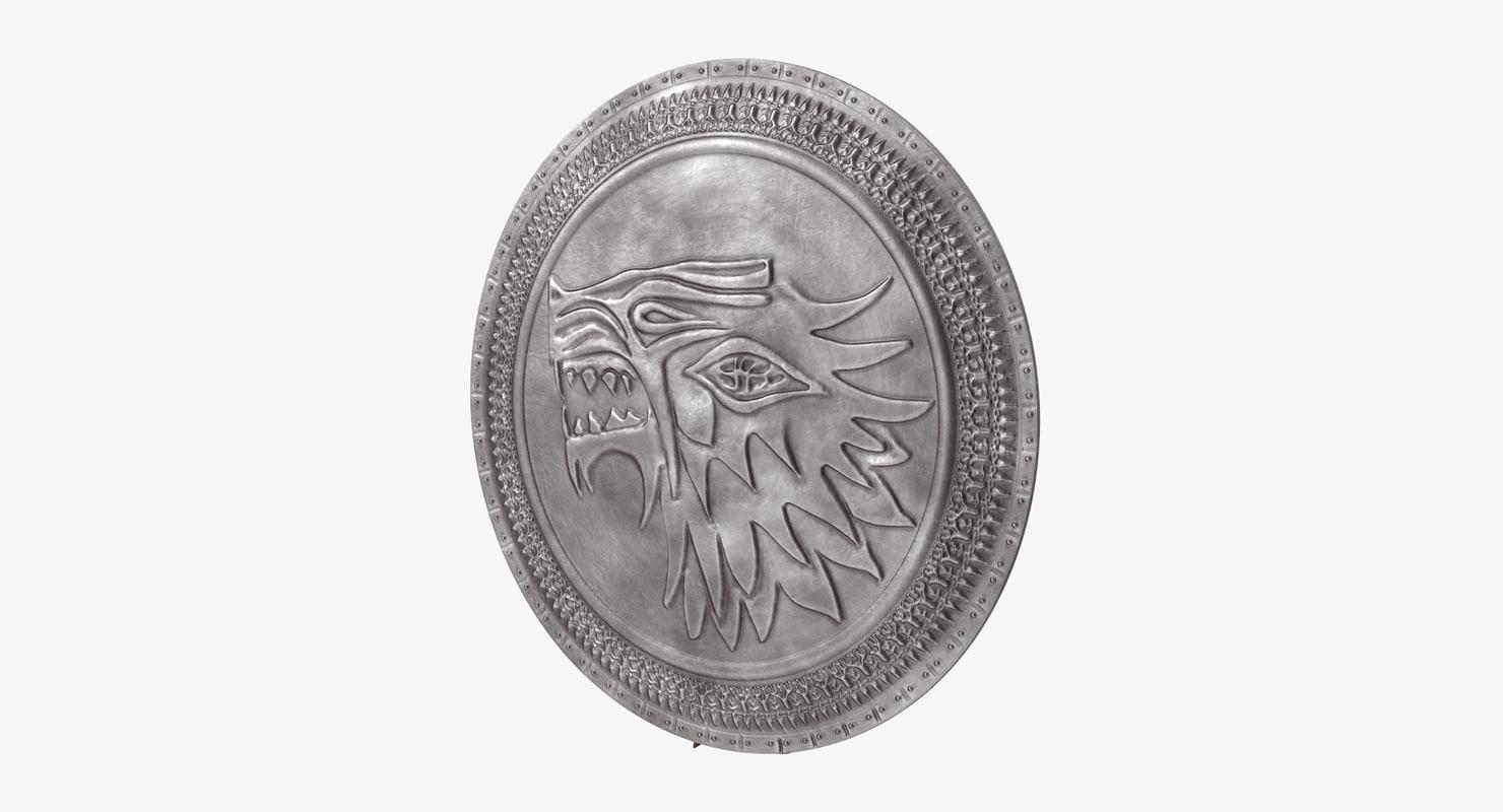 stark shield 3d max