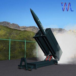 lora missile launcher 3d dxf