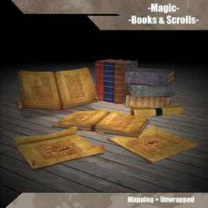 magic book 3d max