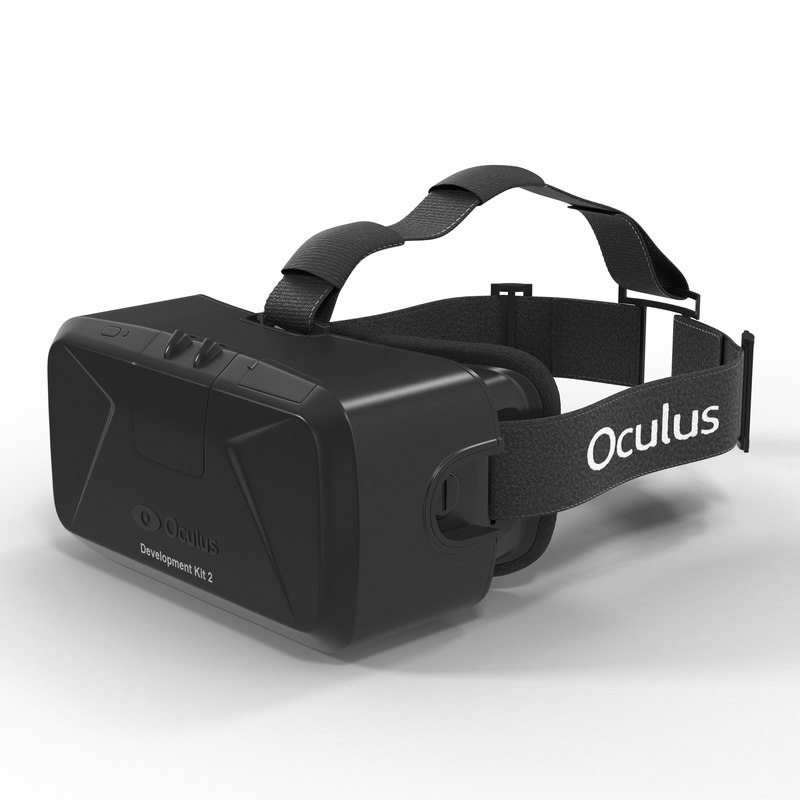 3d virtual reality headset oculus