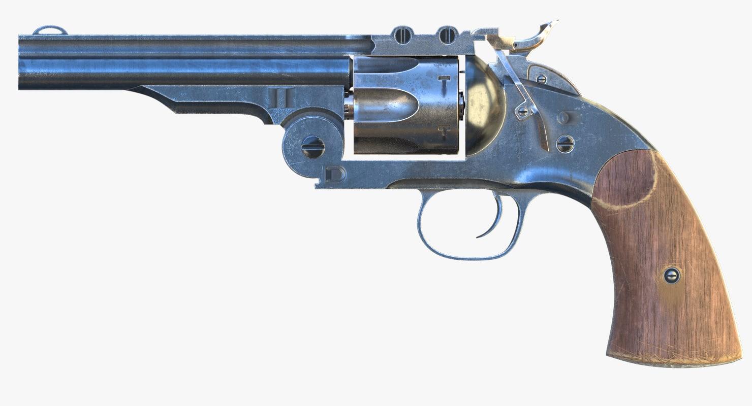 3ds revolver pbr corona