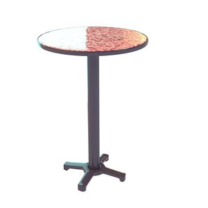 3d model marble pink table