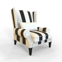 3d fbx armchair chair