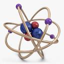 Atom 3D models