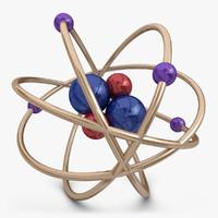 3d model atom 1