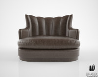 brabbu plum sofa 3d model