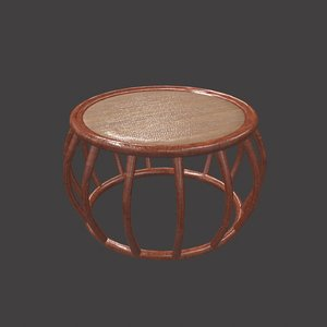 coffee wood table 3d max