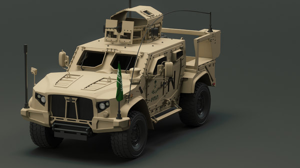 oshkosh 3d model