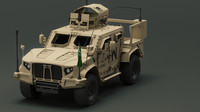 oshkosh 3d model