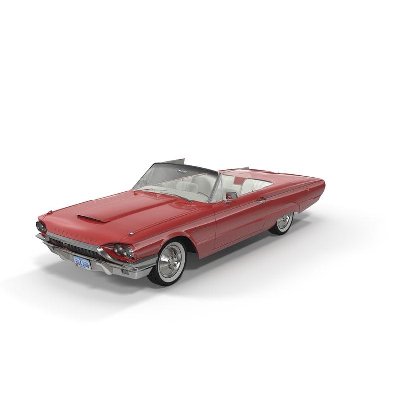 3ds thunderbird 1964 cabriolet