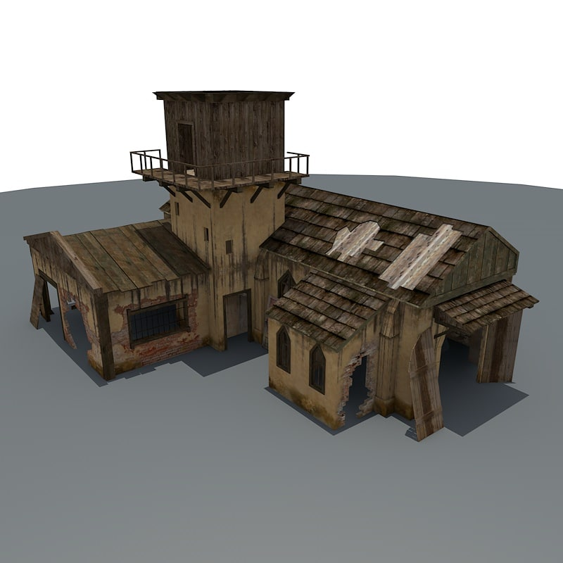 ruined house games max