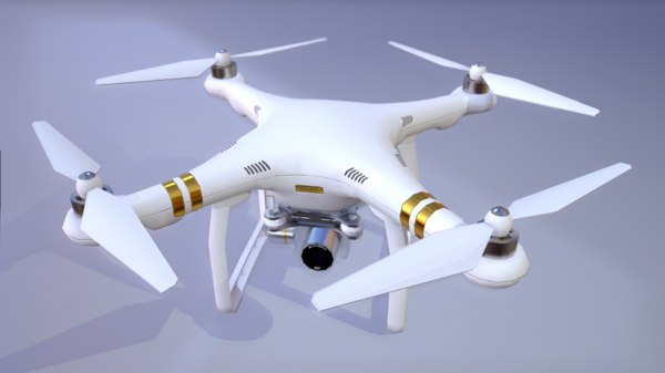 phantom quadro copter 3d 3ds