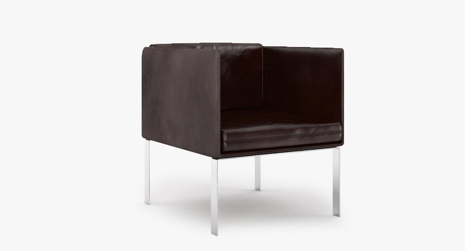 fold armchair 3ds