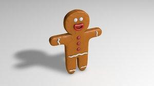 gingerbread c4d