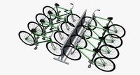 3d bicycles model