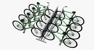 3d bicycles model
