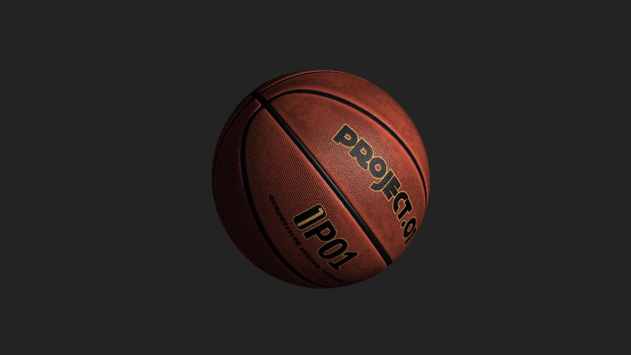 basketball 3d max