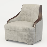 armchair promemoria gioconda 3d model